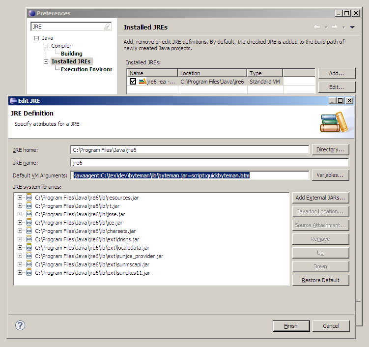 how to use yourkit java profiler in eclipse