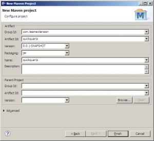Configure Maven Project