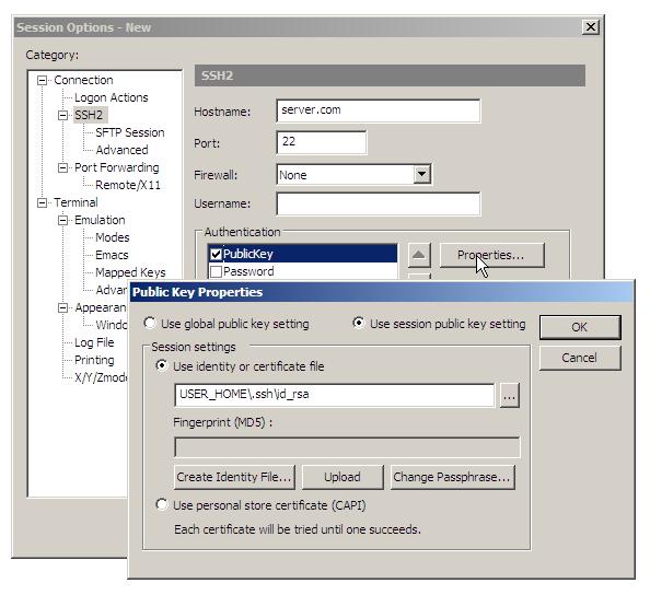 Securecrt Ssh Key Authentication Java Blog Blogteamextension