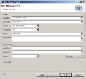 Configure Maven Project